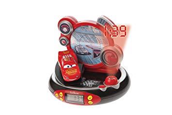 radio reveil cars projecteur