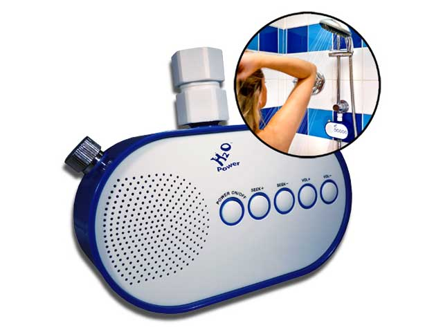 radio waterproof douche