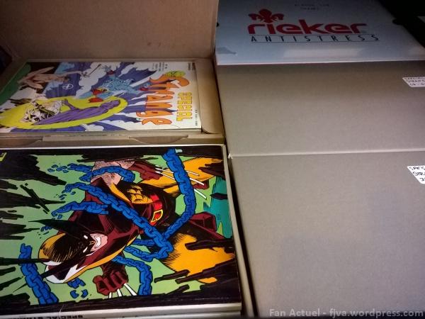 rangement comics