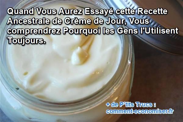 recette crème visage maison