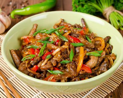 recettes wok