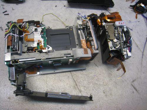 reparation appareil photo