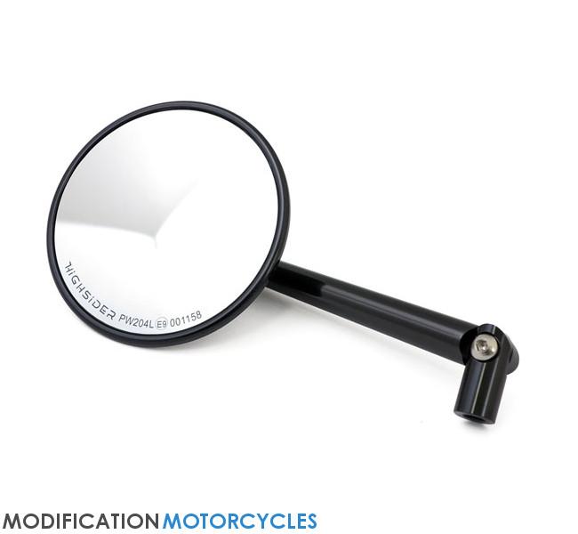 retroviseur rond moto