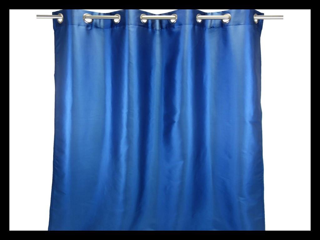 rideau bleu roi