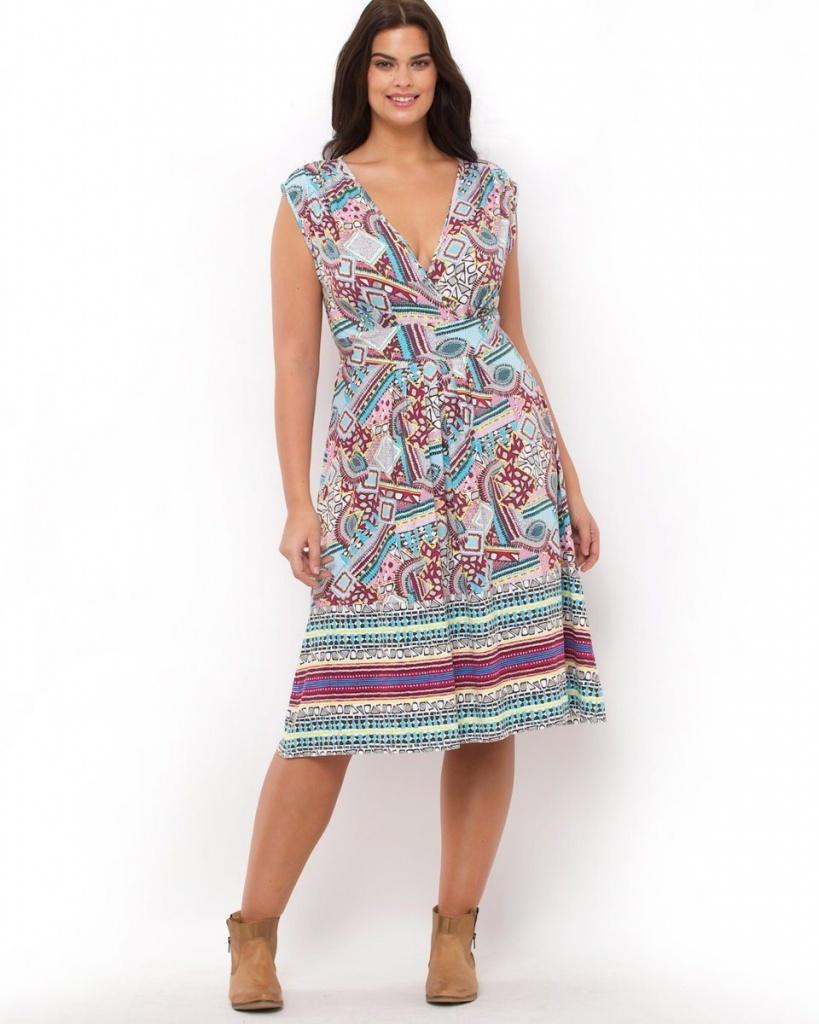 robe coton femme grande taille