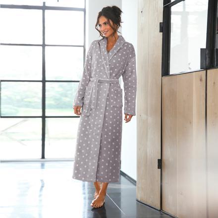 robe de chambre femme maille polaire
