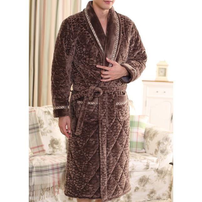 robe de chambre homme chaude