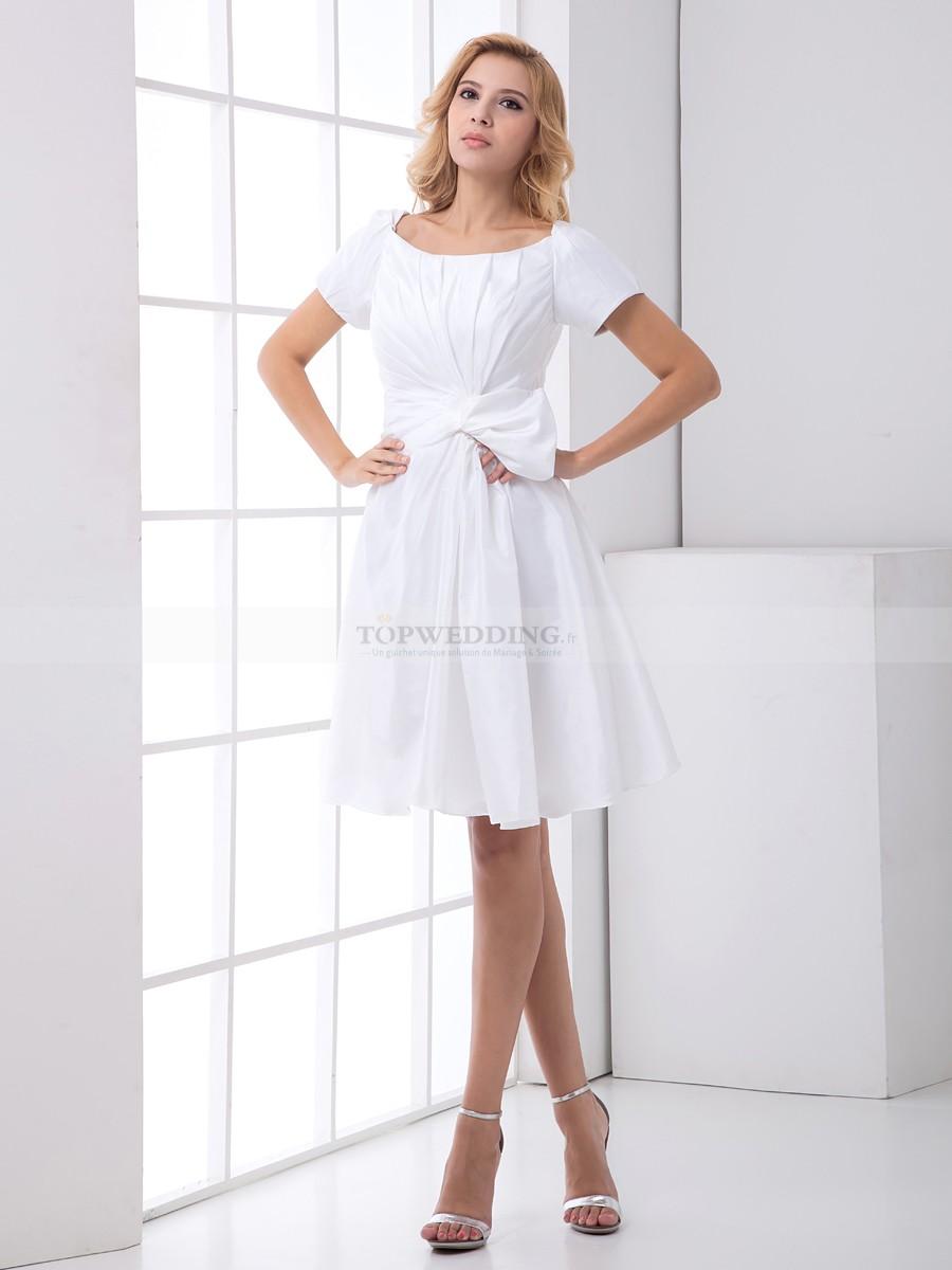 robe de cocktail avec manche