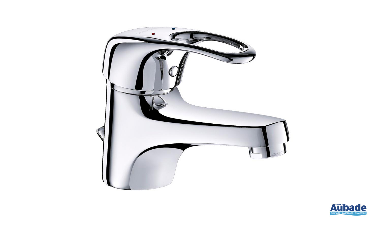 robinet lavabo avec tirette
