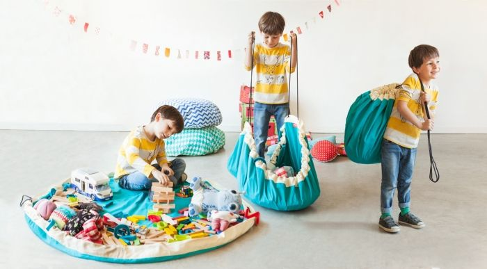 sac de rangement play and go