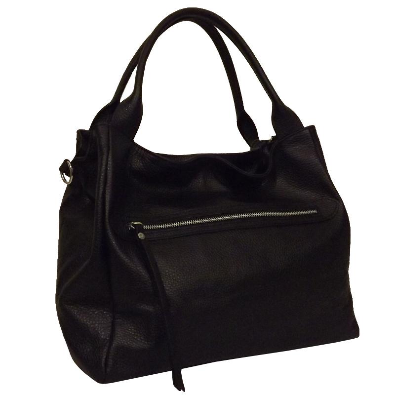 sac en cuir noir pas cher