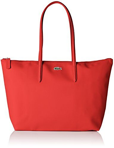 sac lacoste femme rouge