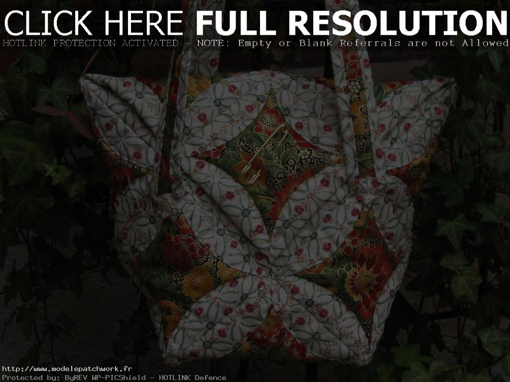 sac patchwork japonais