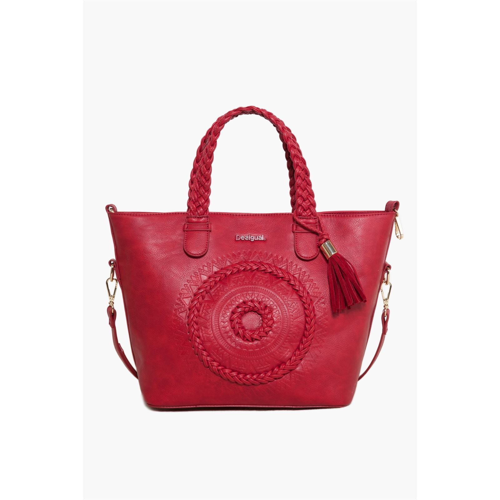sac rouge desigual