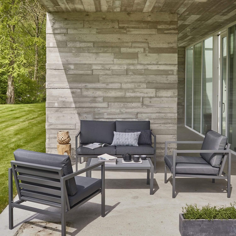 salon aluminium de jardin