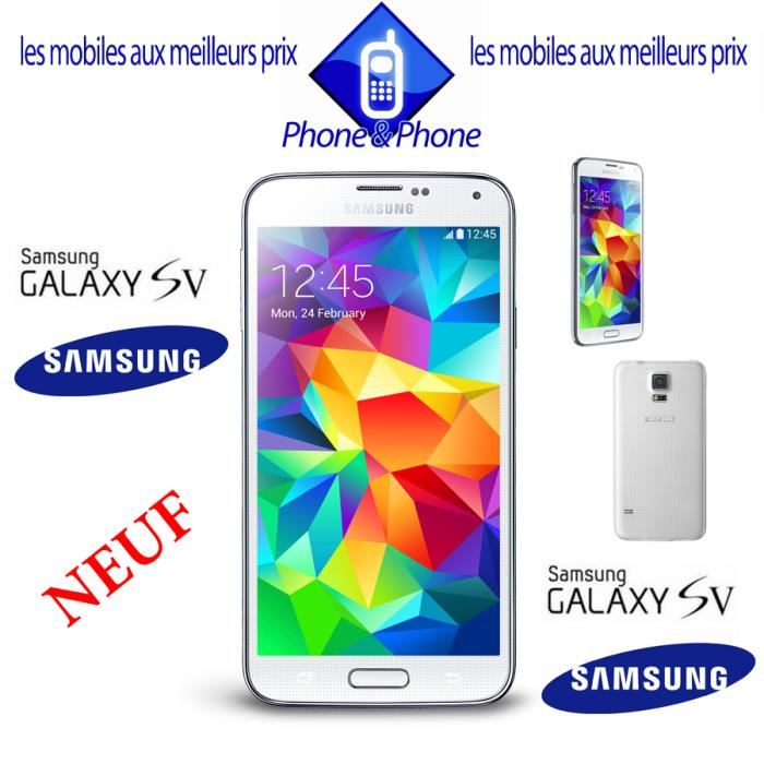 samsung galaxy s5 neuf pas cher