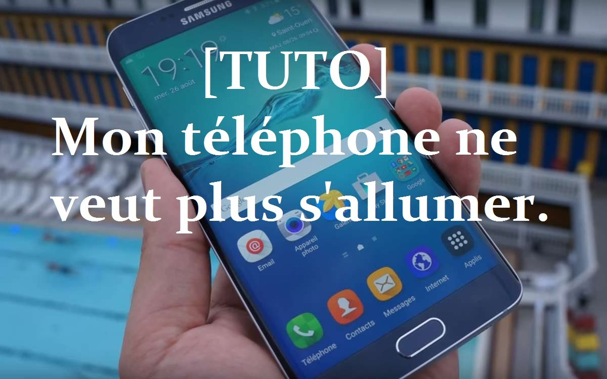 samsung galaxy s6 edge ne s allume plus