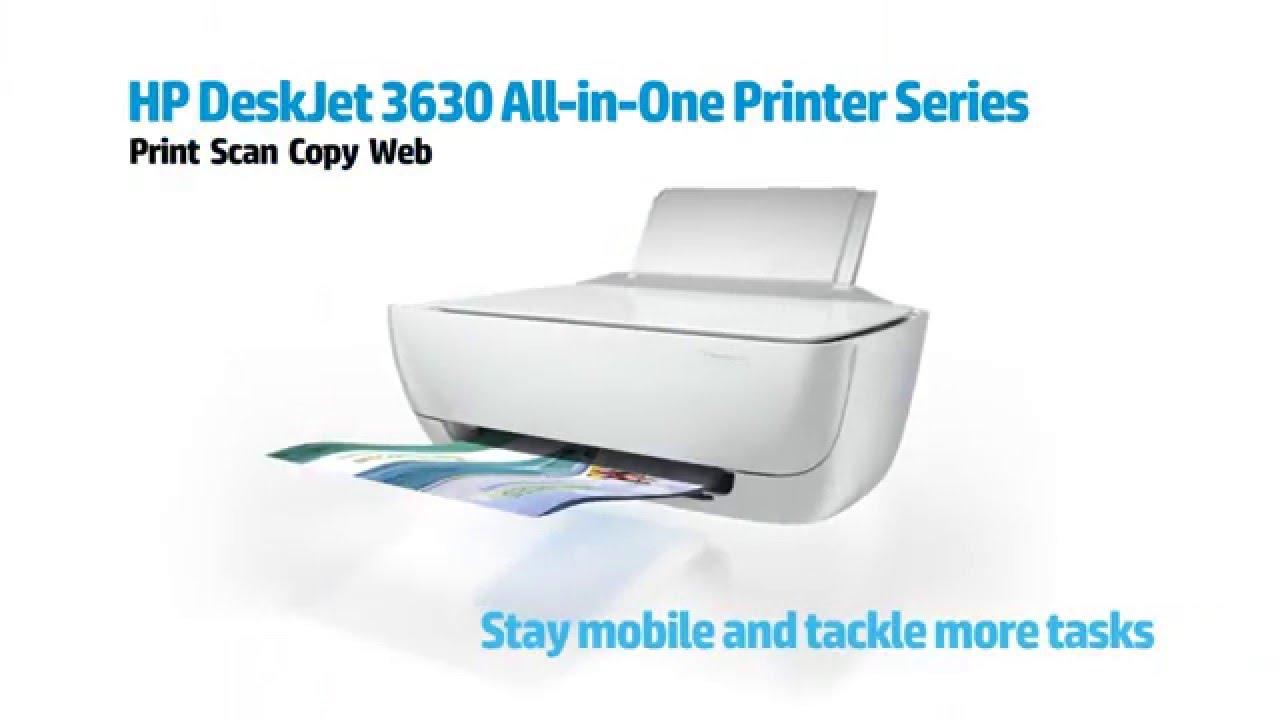 scanner avec hp 3630