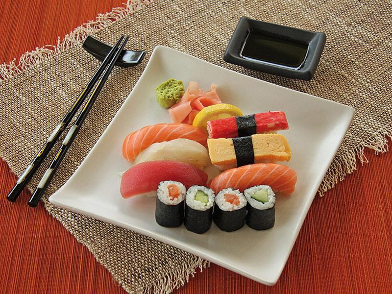 set a sushi