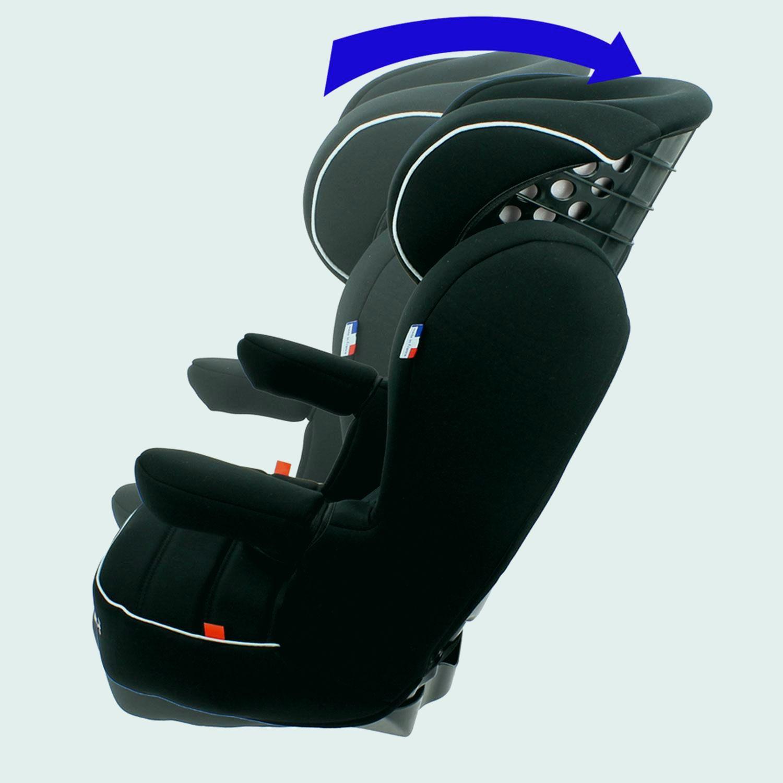 siege auto 2 3 inclinable isofix