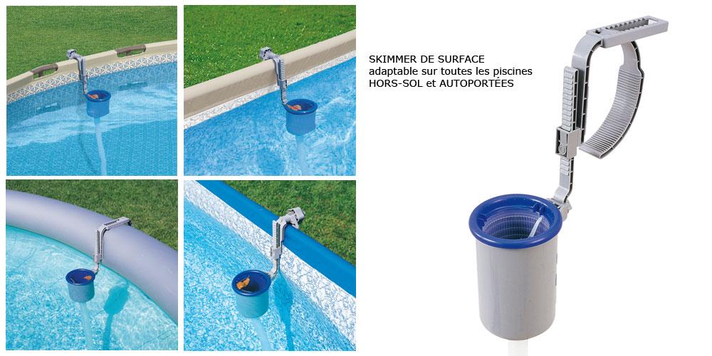 skimmer piscine hors sol bestway