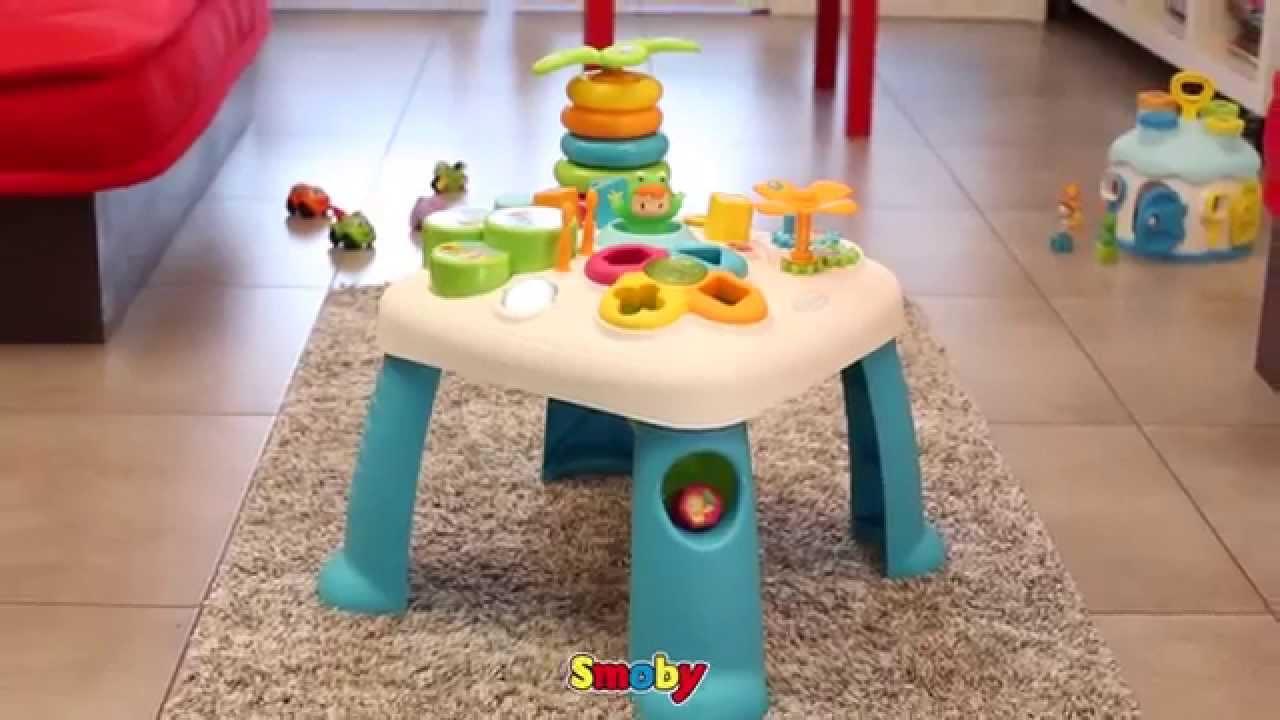 smoby table d'activité