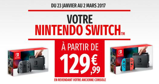 solde nintendo switch