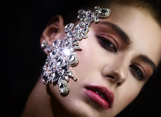 strass maquillage