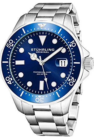 stuhrling original blue face