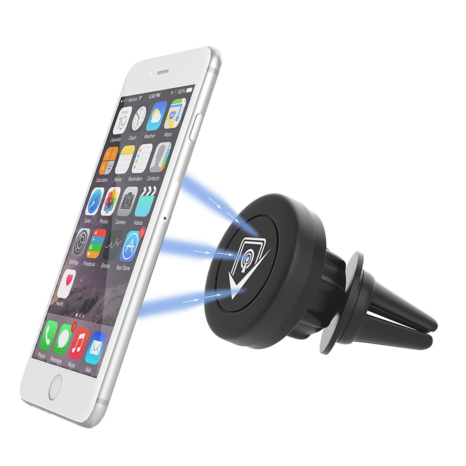 support magnetique telephone