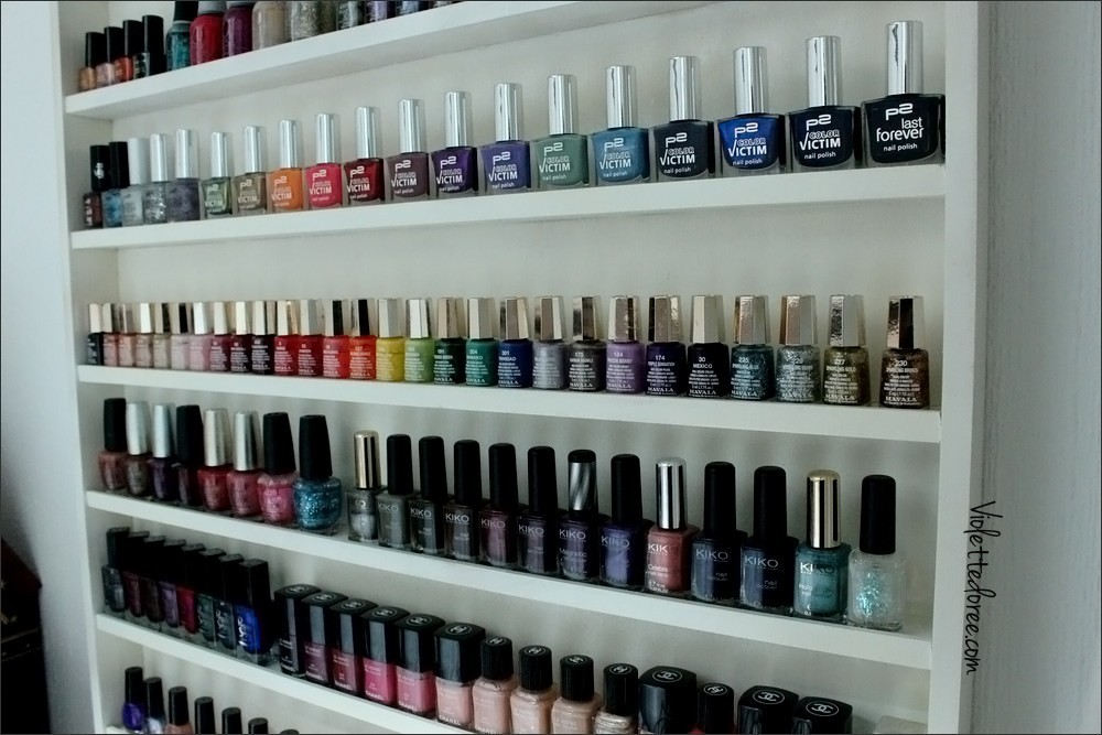 support mural vernis a ongles