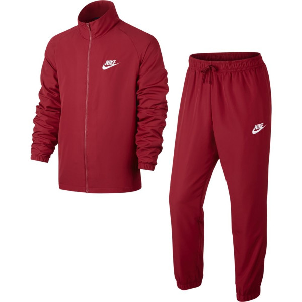 survetement rouge nike