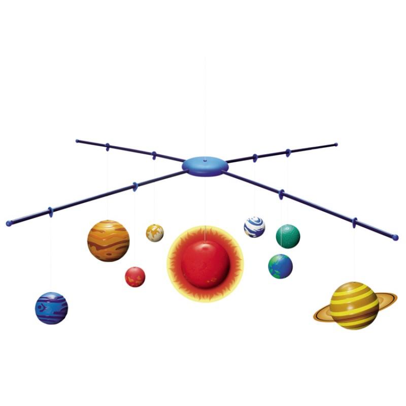 système solaire à suspendre