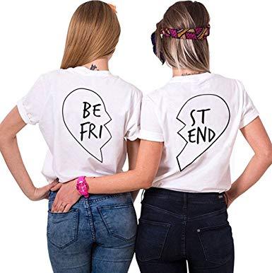 t shirt meilleure amie