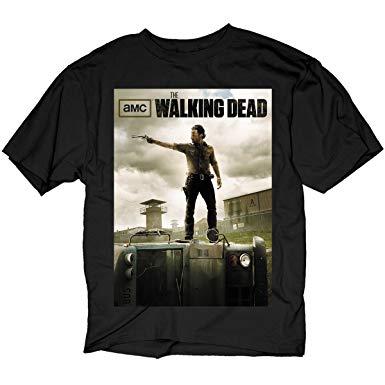 t shirt the walking dead