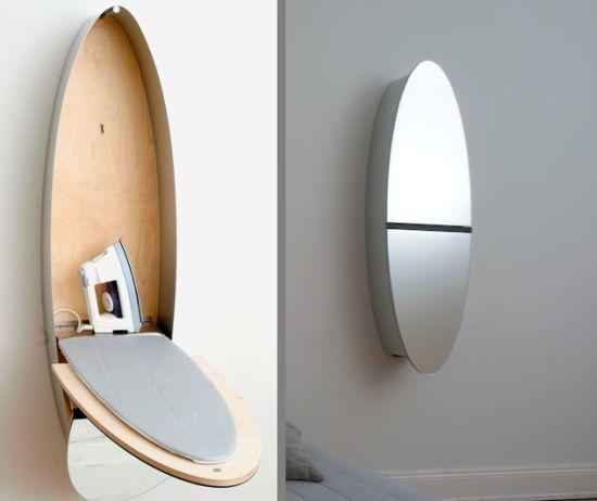 table a repasser miroir