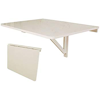 table murale rabattable blanche