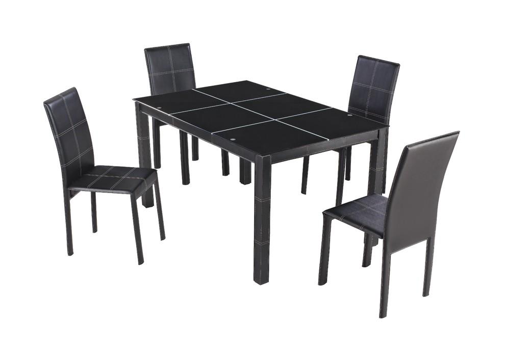 table noir pas cher