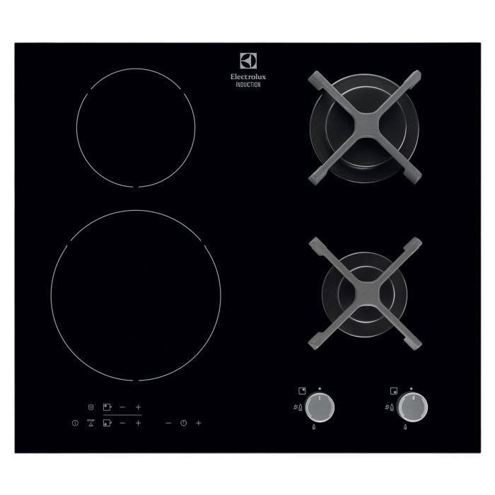 tables de cuisson mixtes