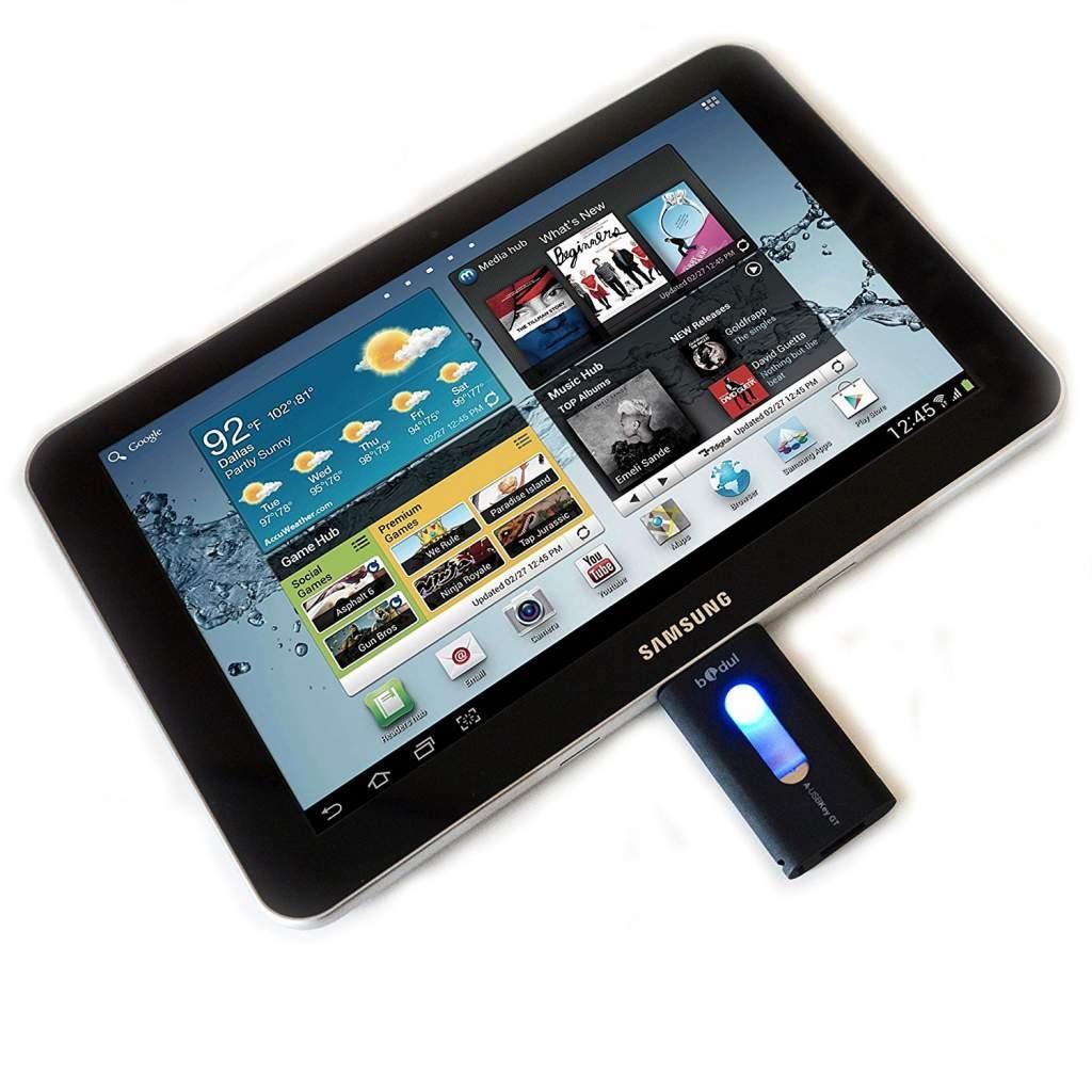 tablette avec port usb