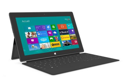 tablette microsoft clavier