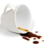 tache de cafe sur tissus