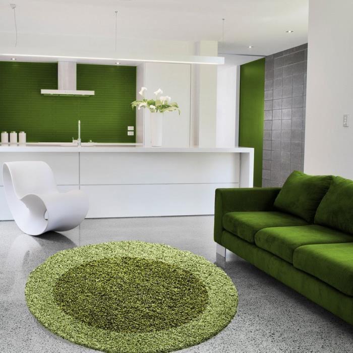 tapis de salon rond
