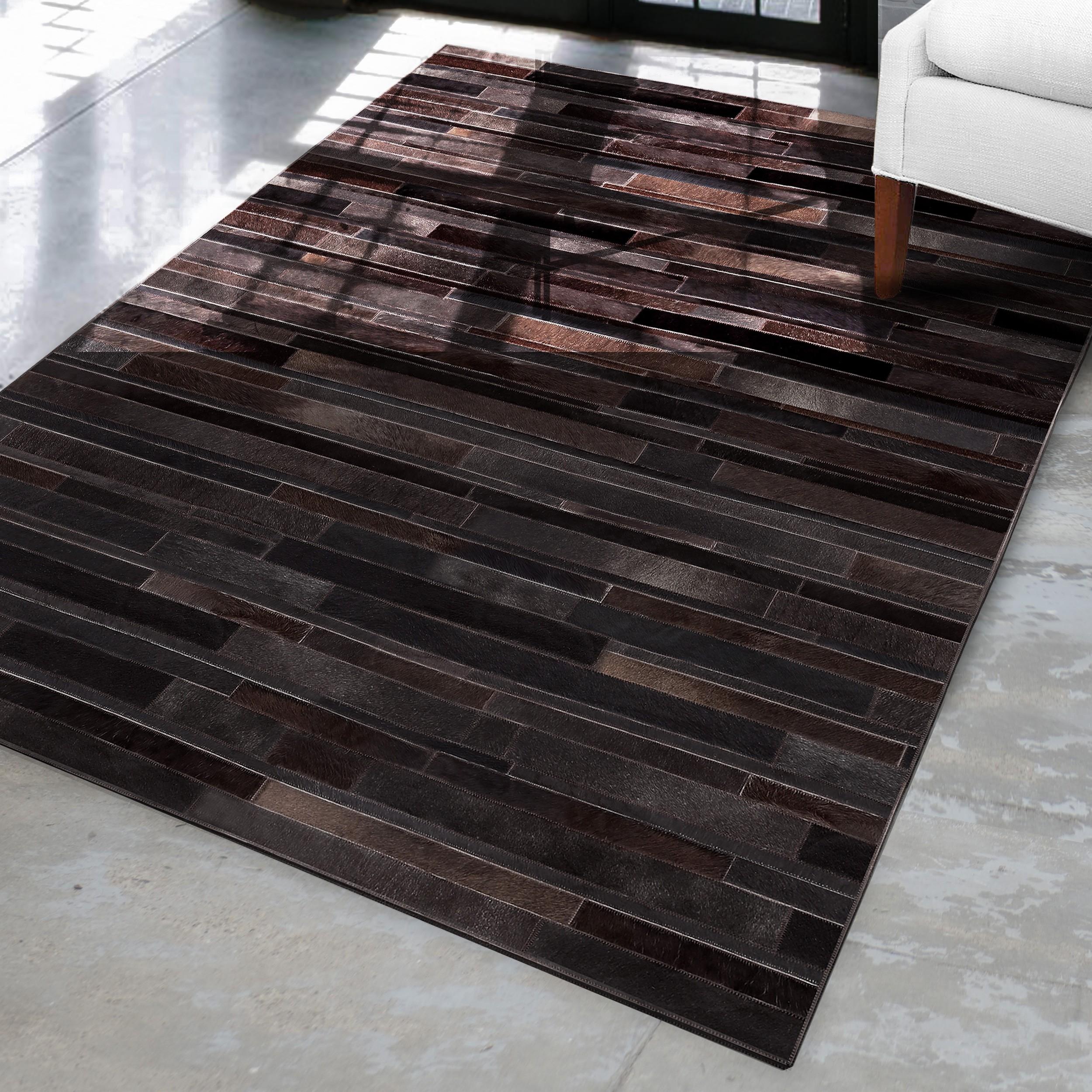 tapis en cuir