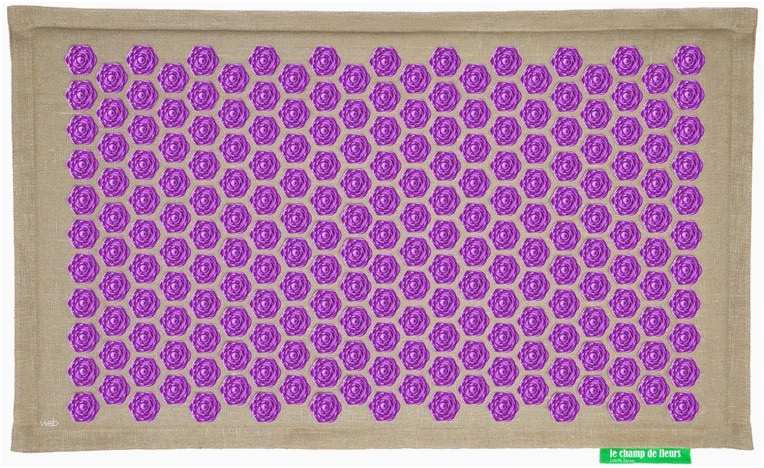 tapis fleur de lotus avis