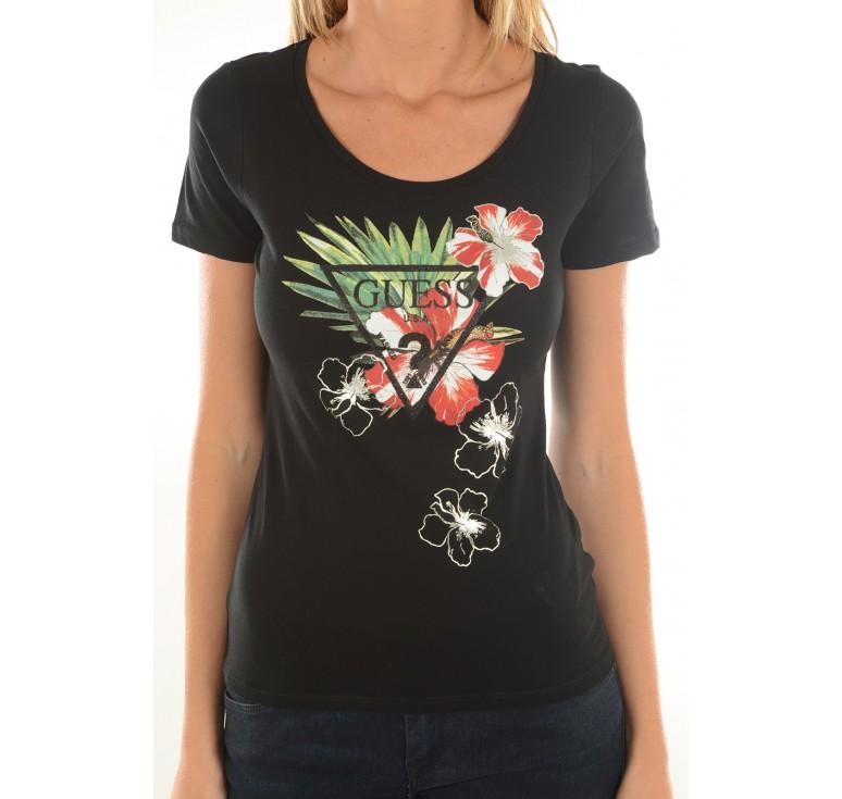 tee shirt femme guess