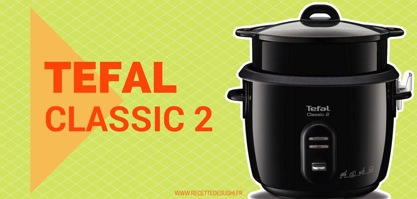 tefal classic 2 recettes