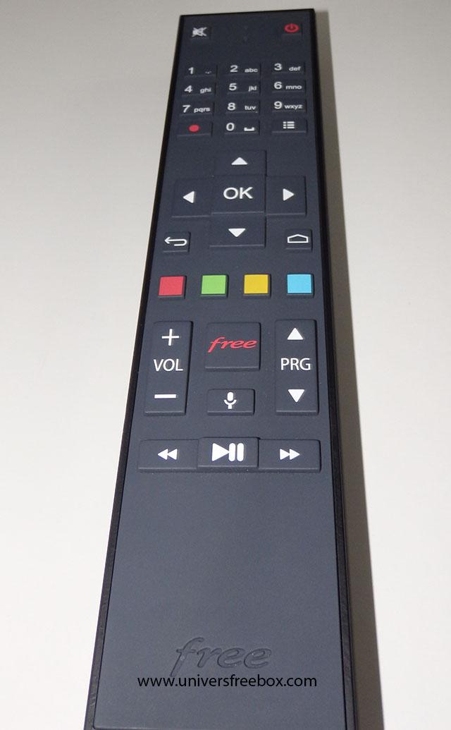 telecommande free 4k