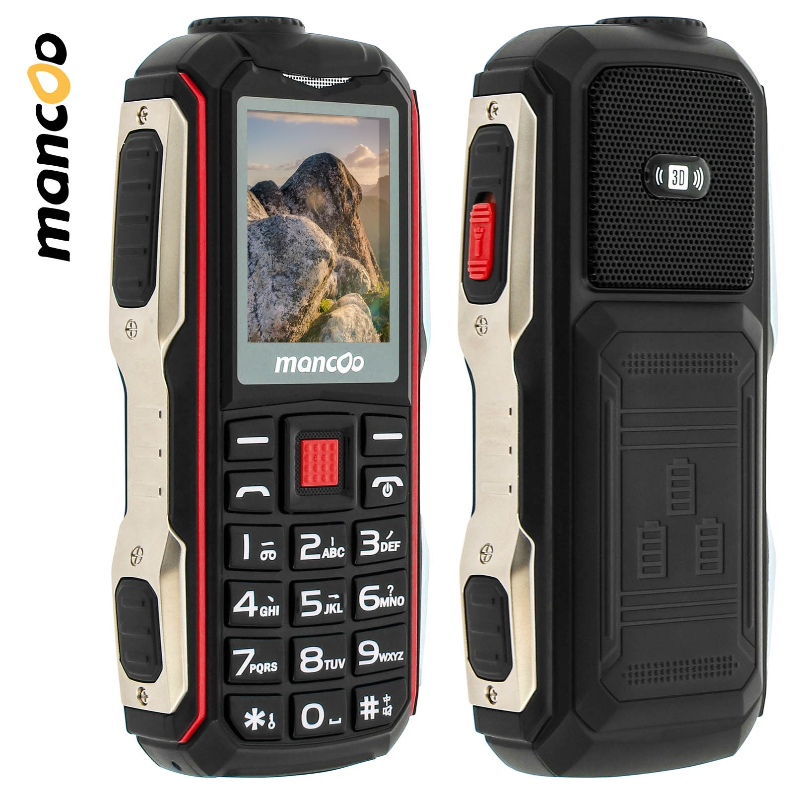 telephone portable etanche et antichoc