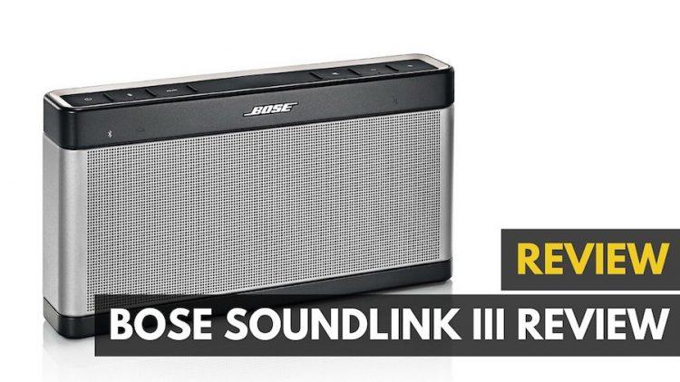 test bose soundlink 3
